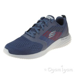 Skechers Bounder Verkona Mens Navy-Charcoal Trainer