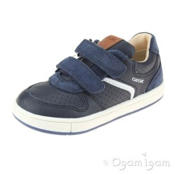 Geox Trottola Boys Navy Shoe