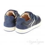 Geox Trottola Boys Navy Shoe