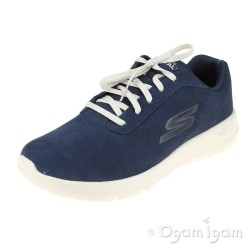Skechers Go Walk Max Evaluate Mens Navy Trainer