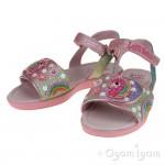 Lelli Kelly Unicorn Sandal Girls Multi Glitter Sandal