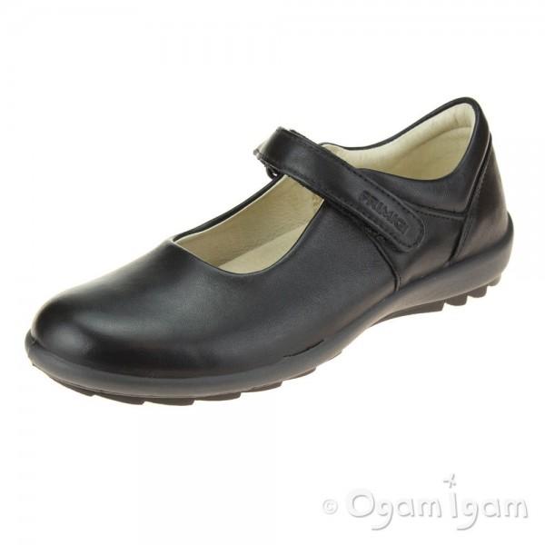 Primigi 6364100 Girls Black School Shoe