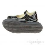 Primigi 6432100 Girls Black Patent School Shoe