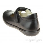Froddo G3140110 Girls Black School Shoe