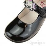 Lelli Kelly Blossom Girls Black Patent School Shoe