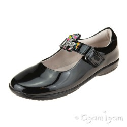 Lelli Kelly Bonnie Girls Black Patent School Shoe