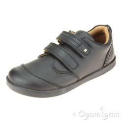 Bobux Scout Boys Black School Shoe