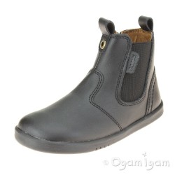 Bobux Jodhpur Boys Black School Boot