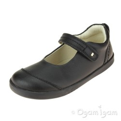 Bobux Piper Girls Black School Shoe