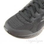 Skechers Go Run 600 Hendox Black School Shoe