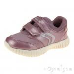 Geox Waviness Girls Pink Shoe