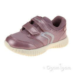 Geox Waviness Girls Pink Shoe