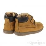 Geox Hynde Boys Brown Biscuit Waterproof Boot