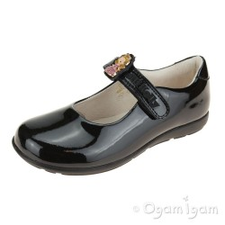 Lelli Kelly Prinny Girls Black Patent School Shoe
