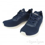 Skechers Bobs Squad Tough Talk Womens Navy Trainer