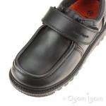 Hush Puppies Ryan Boys Black School Shoe
