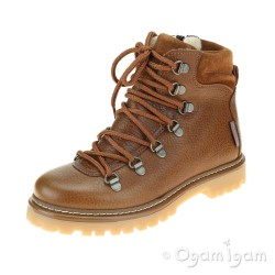 Angulus Tex Boot Boys Girls Waterproof Cognac Boot