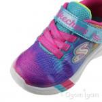 Skechers Dreamy Lites Sunny Sprints Girls Multi Trainer
