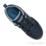 Skechers Dyna-Air Quick Pulse Boys Navy-Blue Trainer
