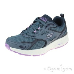 Skechers Go Run Consistent Womens Blue-Purple Trainer