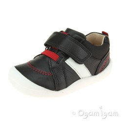 Start-rite Twist Infant Boys Black Shoe