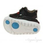 Start-rite Twist Infant Boys Black Shoe