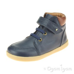 Bobux Timber Boys Navy Ankle Boot