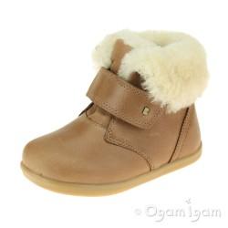 Bobux Desert Arctic Junior Boys Girls Warm Lined Caramel Boot