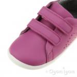 Bobux Grass Court Infant Girls Raspberry Shoe