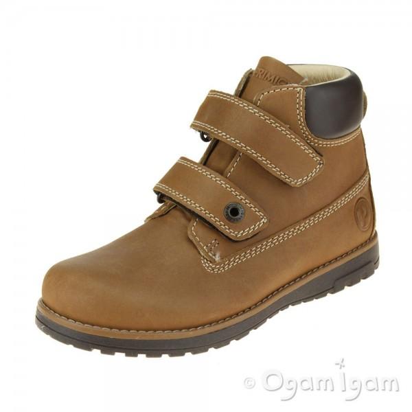 Primigi 6410166 Boys Senape Brown Boot