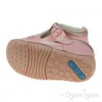 Start-rite Baby Bubble Infant Girls Pink Patent T-bar Shoe