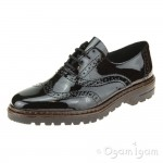 Rieker 5481200 Womens Black Shoe