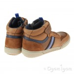 Geox Poseido Boys Cognac-Navy Boot