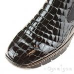 Rieker 5379401 Womens Black Ankle Chelsea Boot