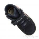 Geox Kilwi Girls Dark Navy Sneaker Hi-top Boot