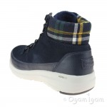 Skechers Glacial Ultra Peak Womens Navy Boot