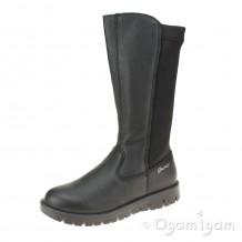 Primigi 6364800 Girls Black Tall Boot