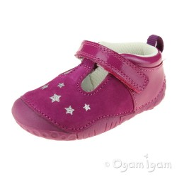 Start-rite Little Star Infant Girls Berry Shoe