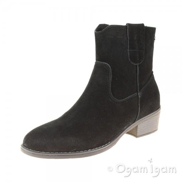 Hush Puppies Iva Womens Black Boot