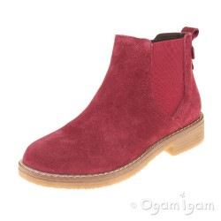 Hush Puppies Maddy Womens Bordo Red Boot