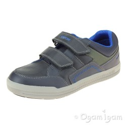 Geox Arzach Boys Navy Blue Shoe