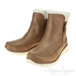 Skechers Synergy Collab Womens Chestnut Warm lined Boot