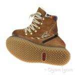 Rieker Z423324 Womens Waterproof Warm-lined Brown Boot