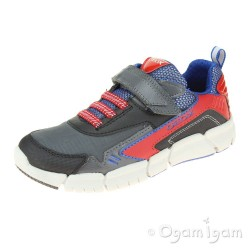 Geox Flexyper Boys Black-Red Shoe
