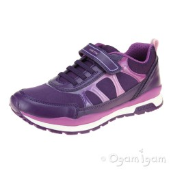 Geox Pavel Girls Violet-Purple Trainer