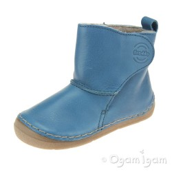 Froddo G2160057 Boys Girls Jeans Blue Boot
