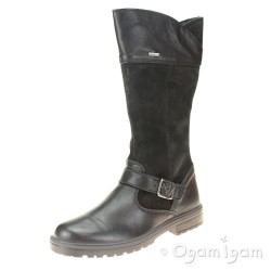 Primigi 6365811 Girls Black Waterproof Boot