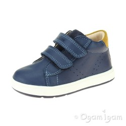 Geox Biglia Boys Avio Blue Shoe