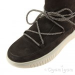 Geox Discomix Girls Chestnut Warm-lined Boot