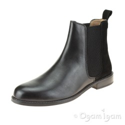 Hush Puppies Chloe Womens Black Chelsea Boot